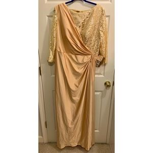 Gold Formal Gown